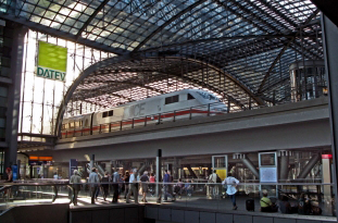 Berlin Main Station: most modern infrastructure