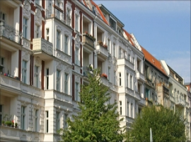 Typical residential buildings in Berlin