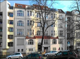 A dignified pre-war building in a top Berlin neighborhood